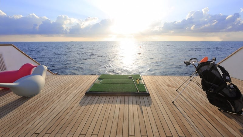 Water Golf Set on board