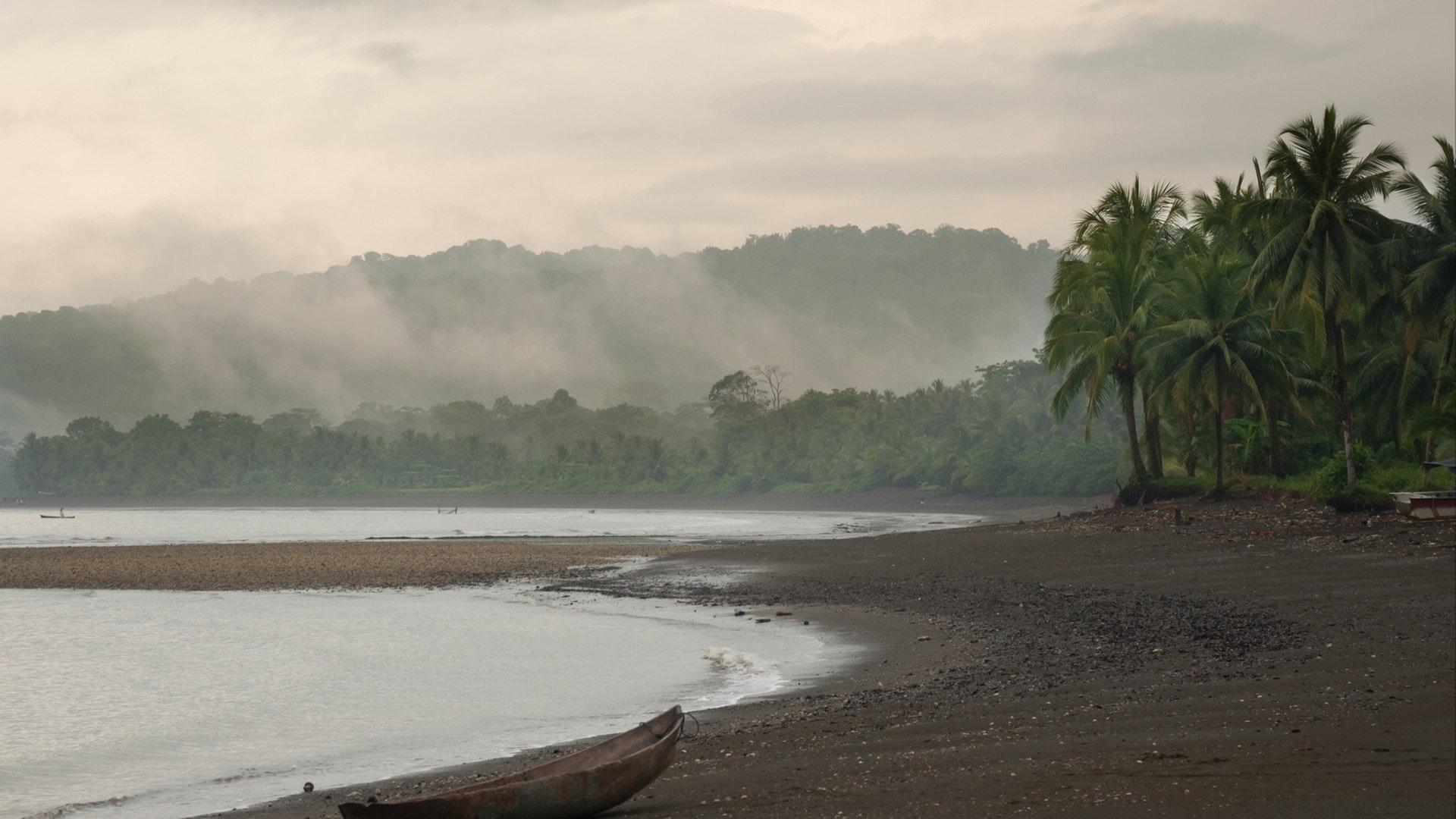 哥伦比亚太平洋海岸曙光