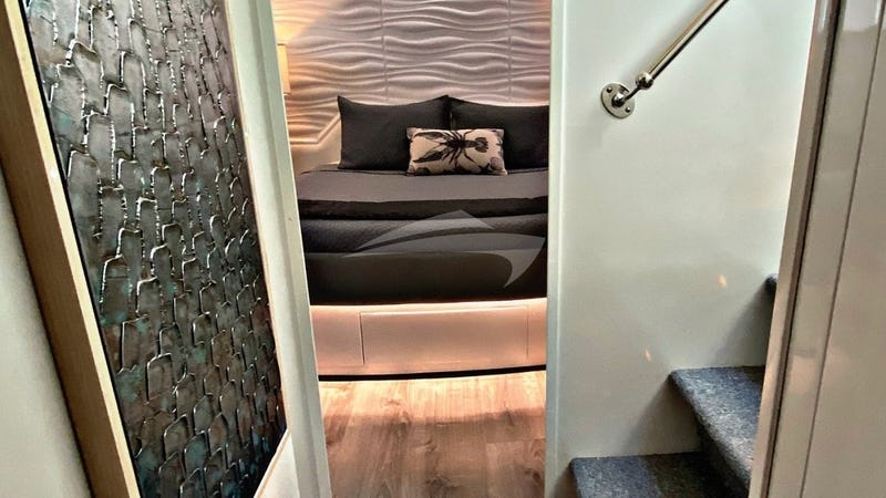 RUNAWAY :: Companionway to the master suite