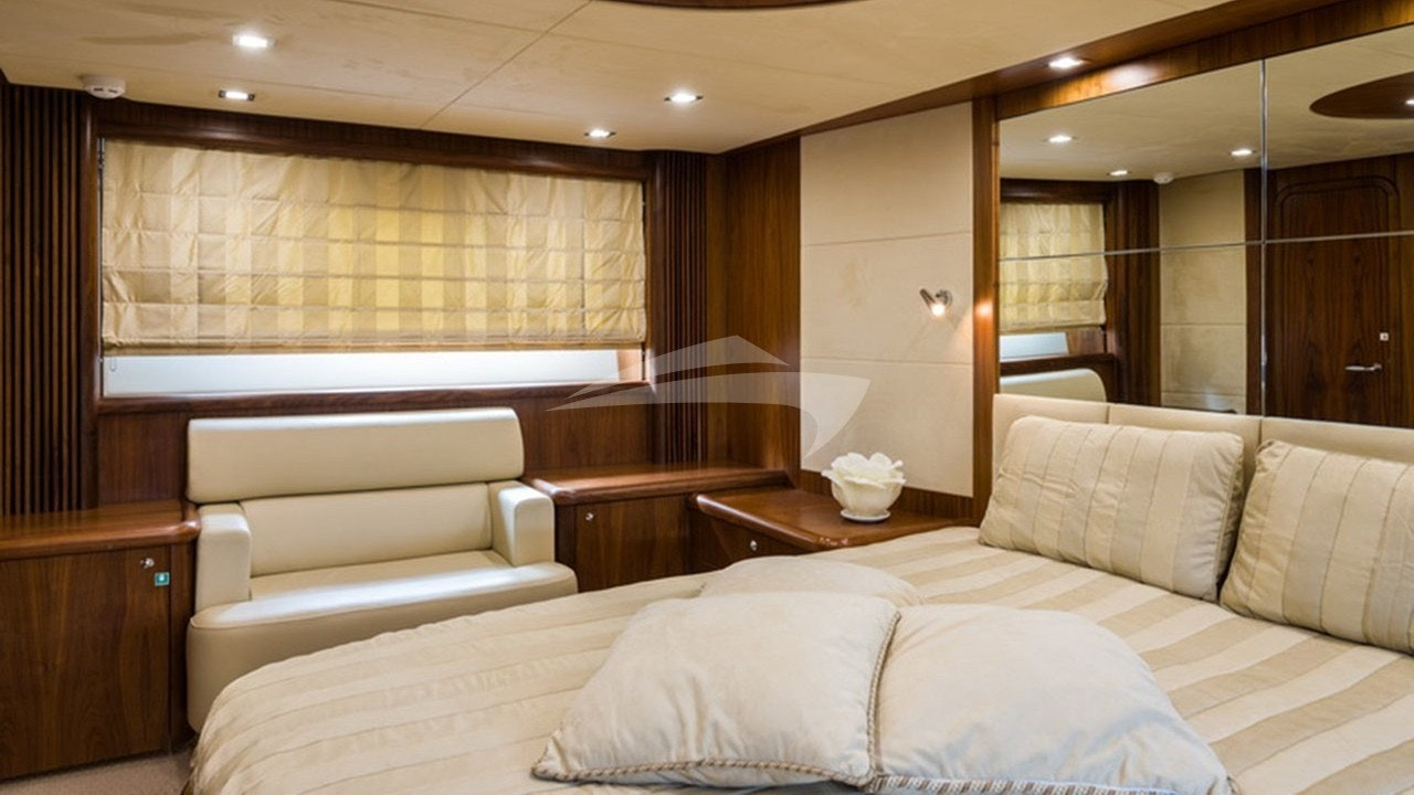 Master cabin detail