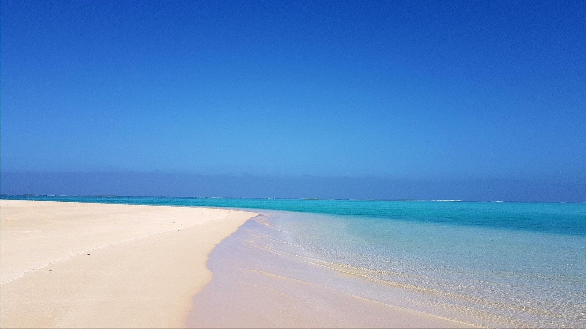 Sandy Bay, no recife de Ningaloo, Austrália Ocidental
