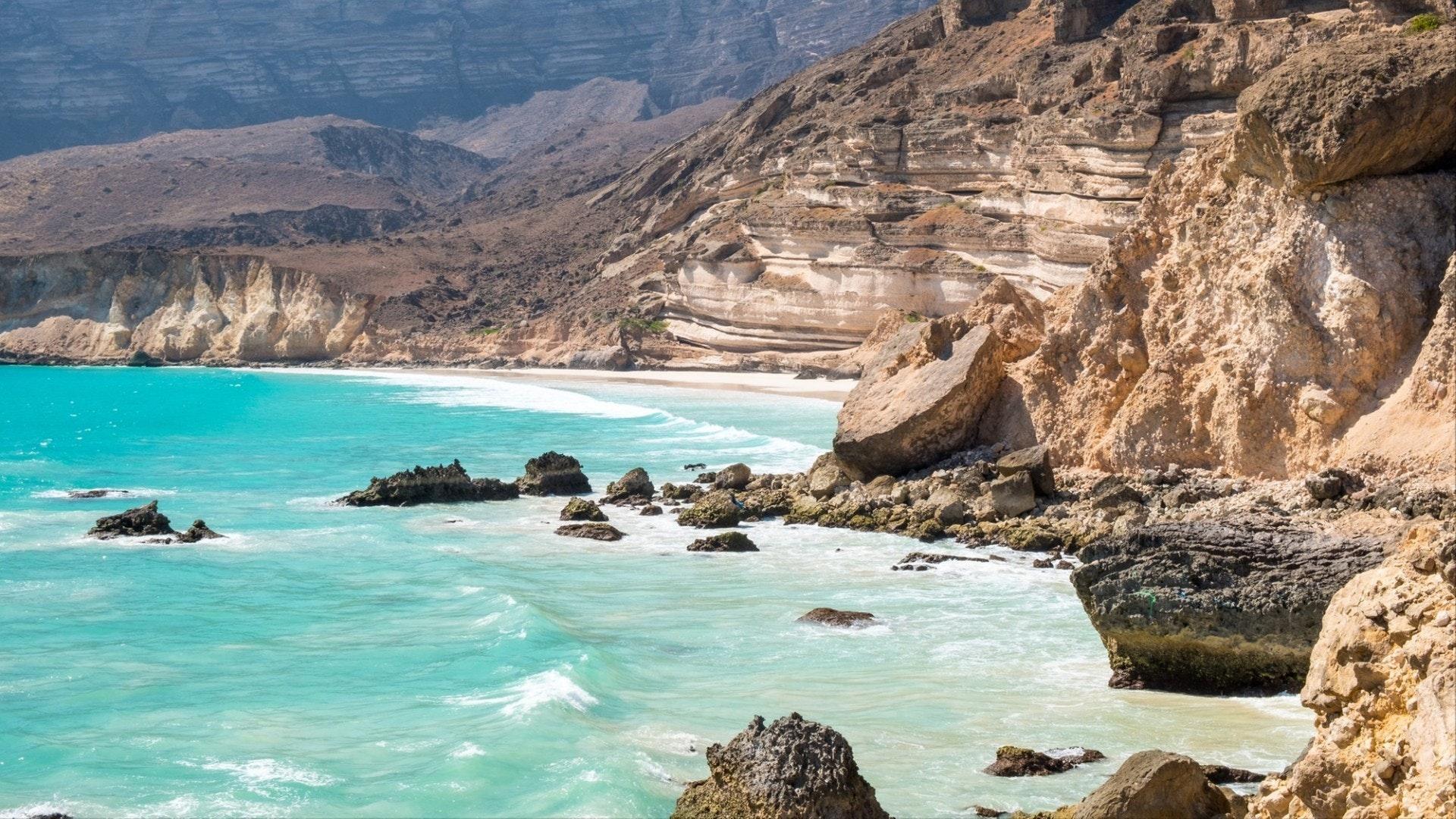 Fazayah Beach near Salalah, Dhofar