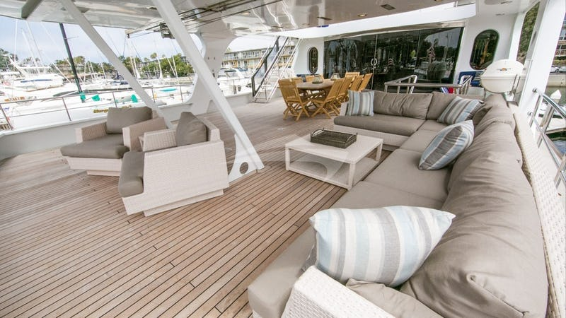 Mid Deck Seating