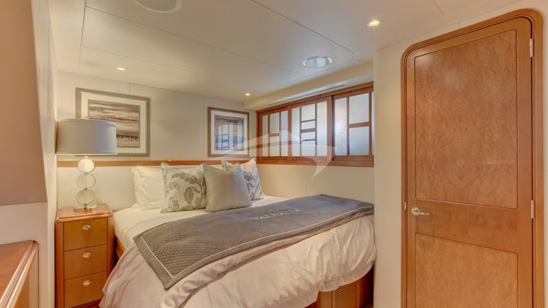 VALHALLA :: Queen guest stateroom (converts to Twin)