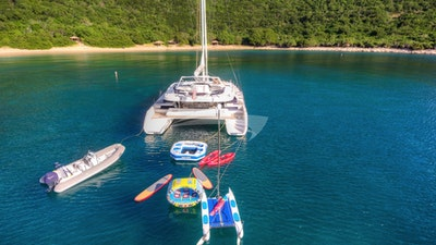 Human, wind and dinghy toys