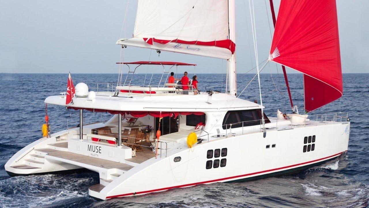 Sunreef 70 Sail Catamaran