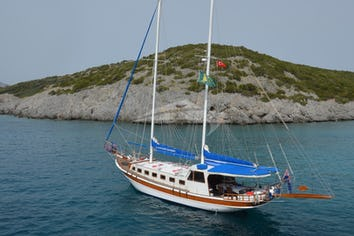 59ft Yacht SOUTHERN CROSS TIMER