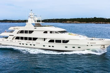 Luxury charter yacht THREE FORKS