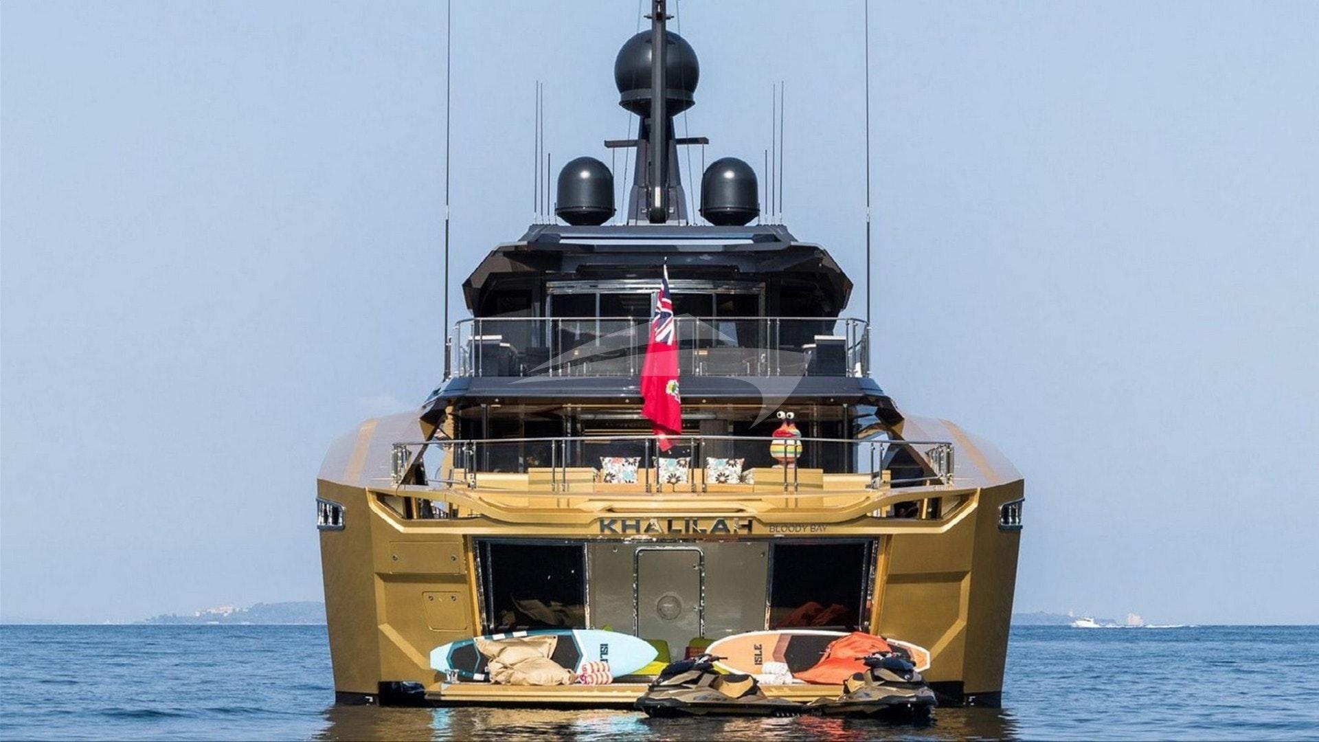 Aft at anchor