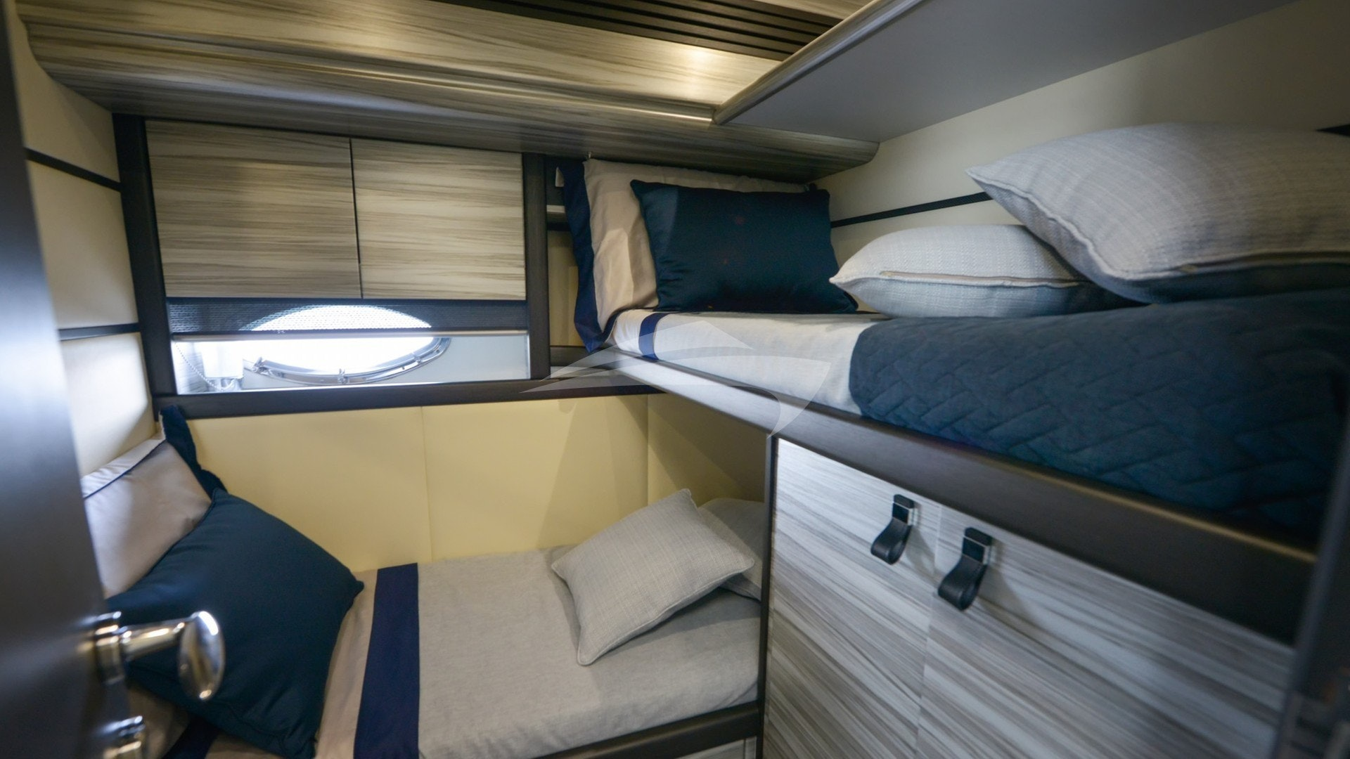 Single and Bunk Cabin