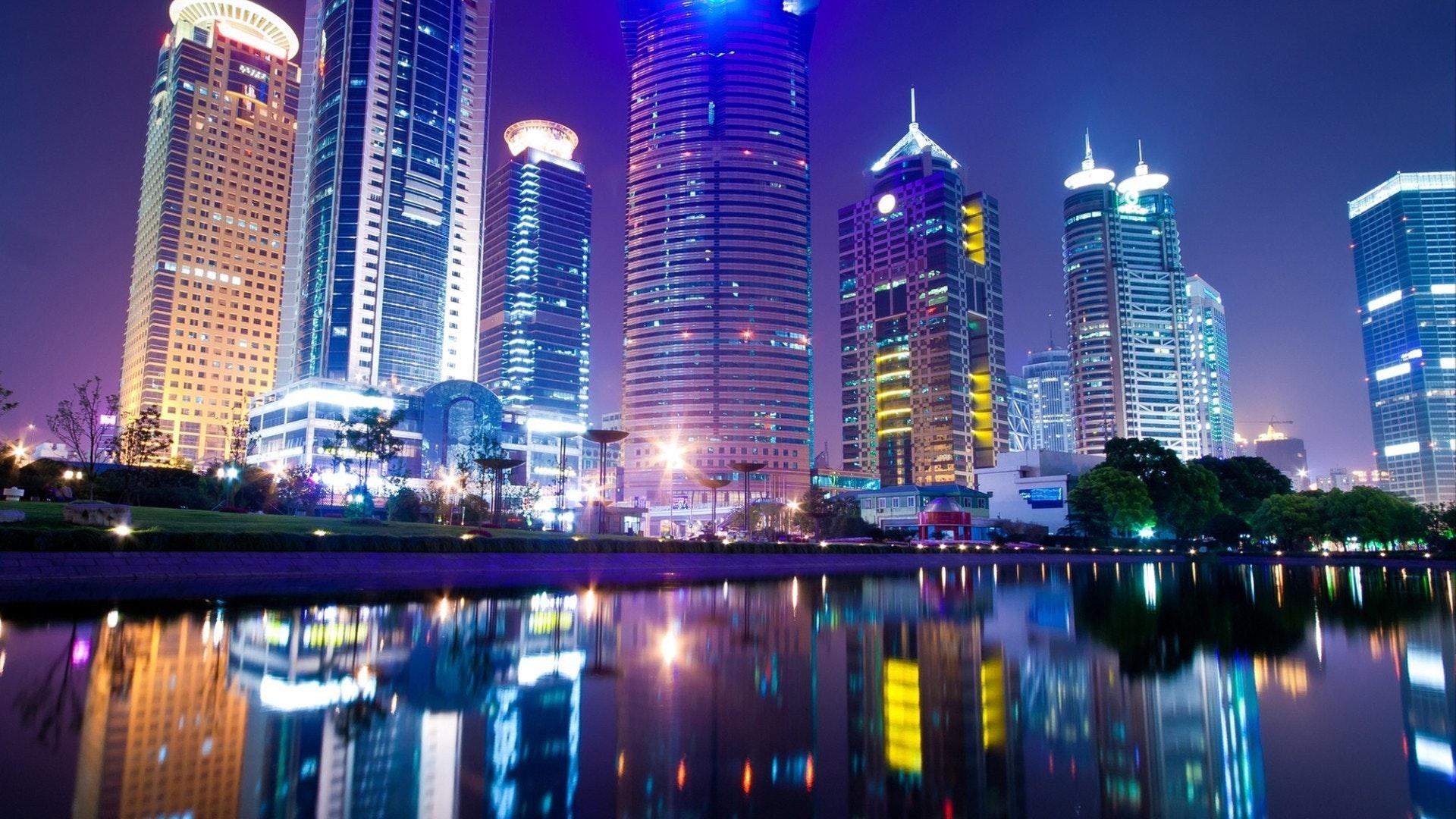 lumières de la ville de la mer