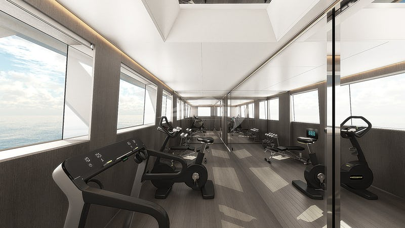 CLOUD ATLAS :: Upper Deck Gym- Render Photo