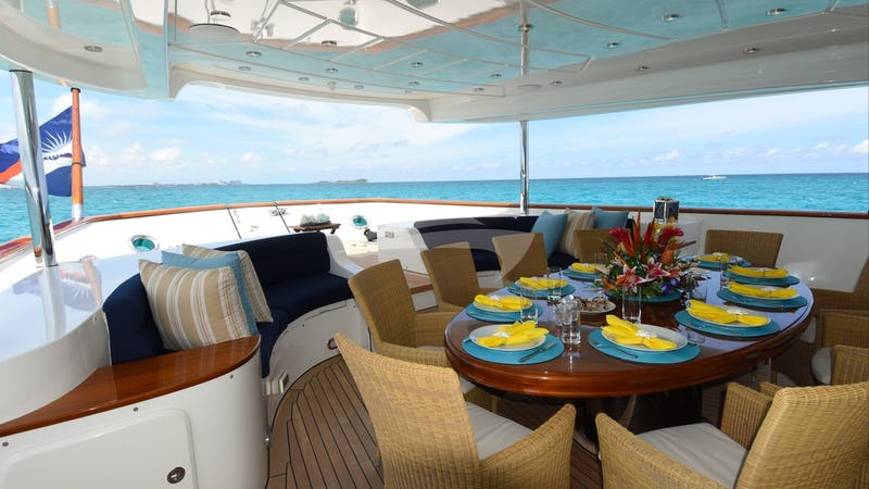 CLARITY :: Aft Deck Dining