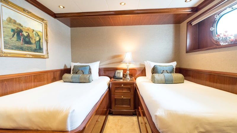 EXCELLENCE :: Starboard Fwd guest stateroom