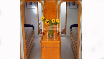 Two forward Cabins can also be opened up to one la