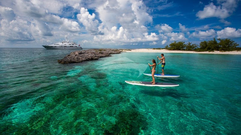 DREAM and Paddleboarders