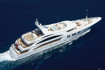 Luxury charter yacht ANDREAS L
