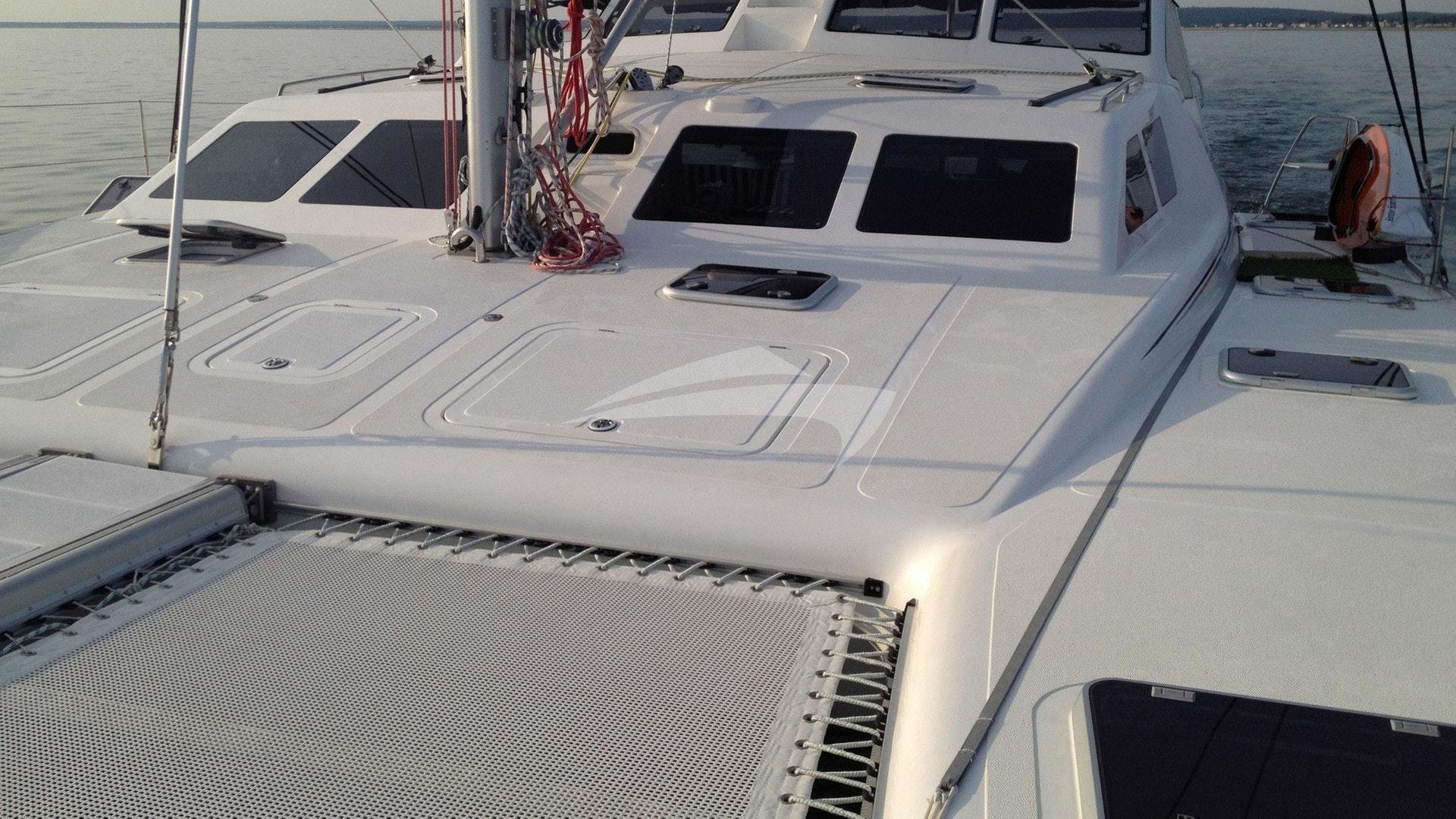 Huge forward deck space
