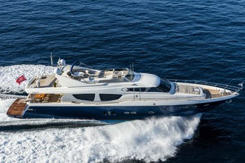 85ft Yacht MYTHOS