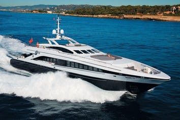 122ft Yacht G-FORCE
