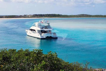 Luxury charter yacht SEAGLASS