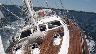 Vista de la cubierta