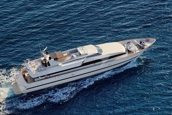 Luxury charter yacht OBSESION