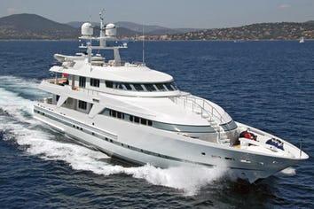 144ft Yacht DEEP BLUE II