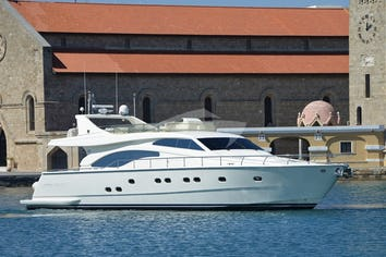 Luxury charter yacht MARY
