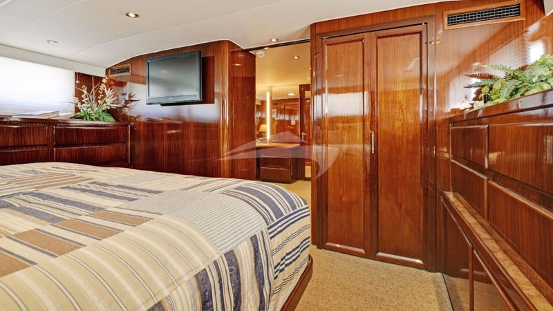 Master Stateroom with King Bed