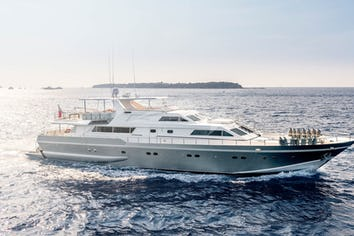 Luxury charter yacht ANTISAN