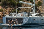 ARGENTOUS sail yacht charter in