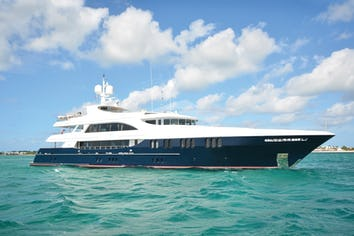 Luxury charter yacht NEVER ENOUGH