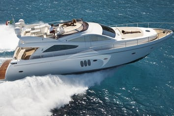Luxury charter yacht SUSY