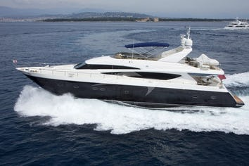 96ft Yacht MOLLY MALONE