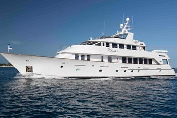 Luxury charter yacht CHERISH II