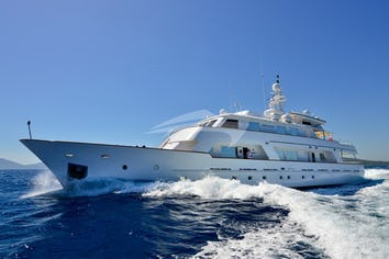 Luxury charter yacht COMMITMENT