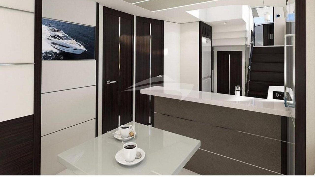 Galley and Table