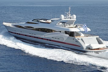 132ft Yacht GLAROS