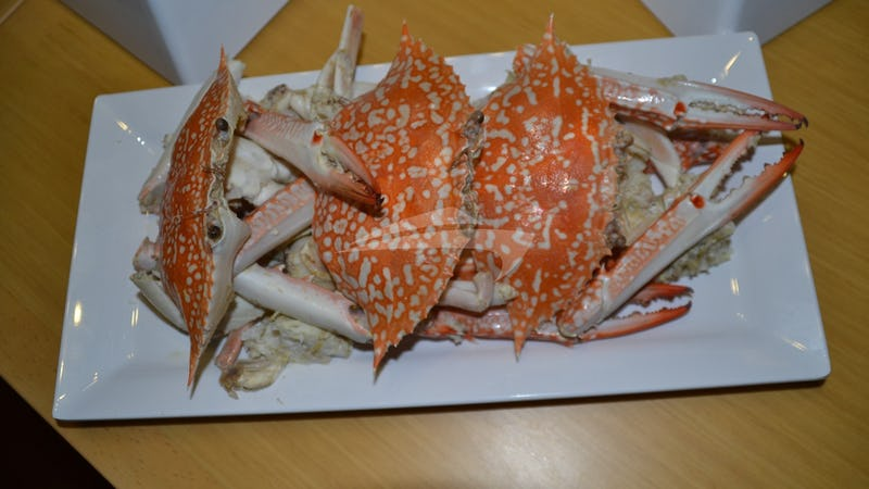 Fresh Crabs with Thai Sauce