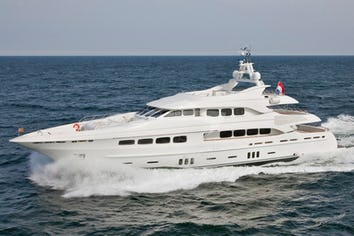 Luxury charter yacht LATITUDE