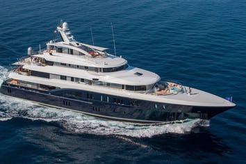 Luxury charter yacht EXCELLENCE V