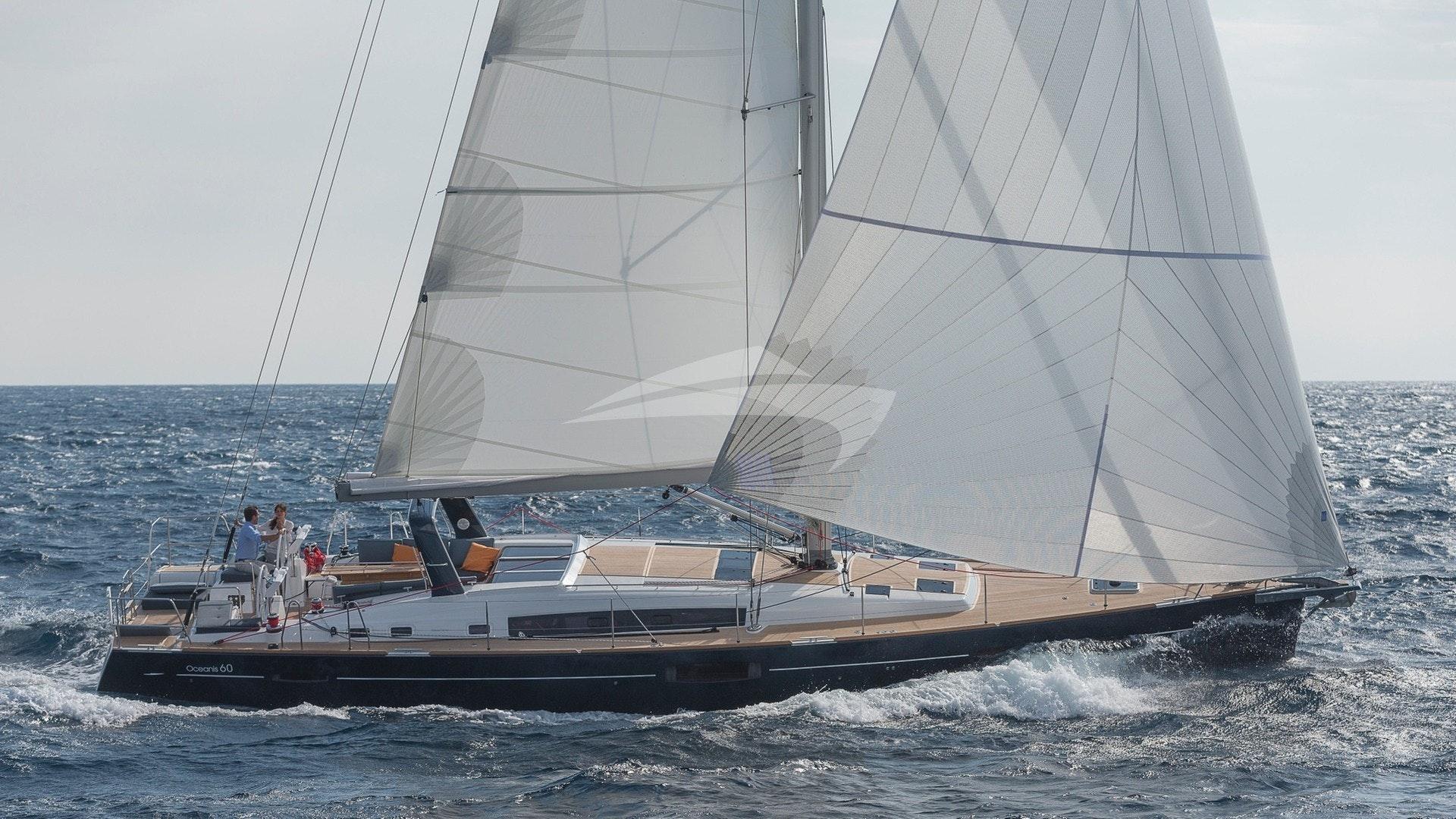 Ocean Star under full sail