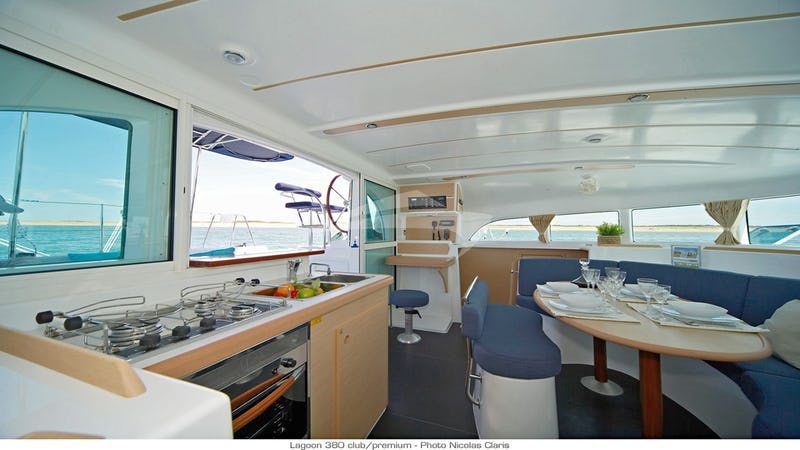 HARMONY :: Dining and galley area