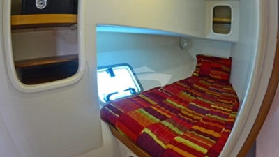 Port Aft Single Guest Cabin