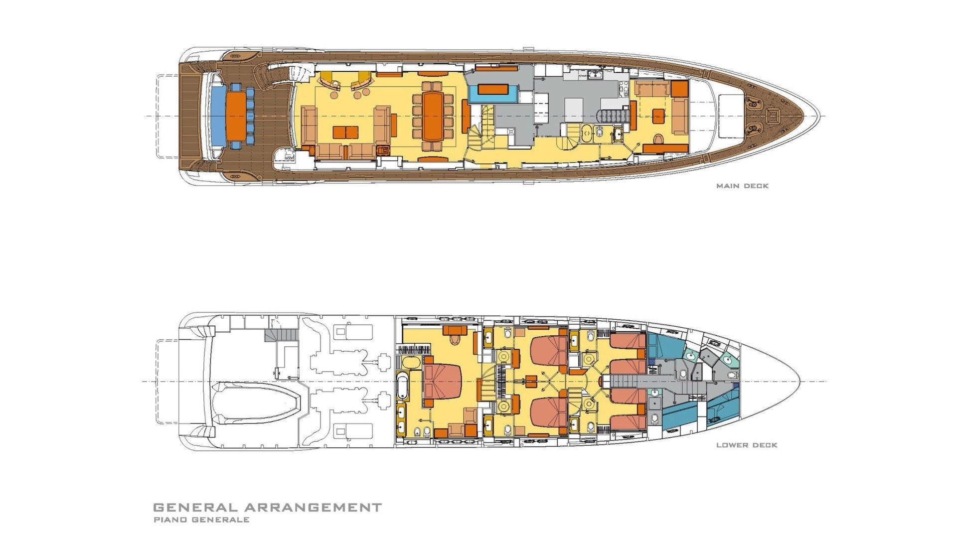 GA Main Deck and Below