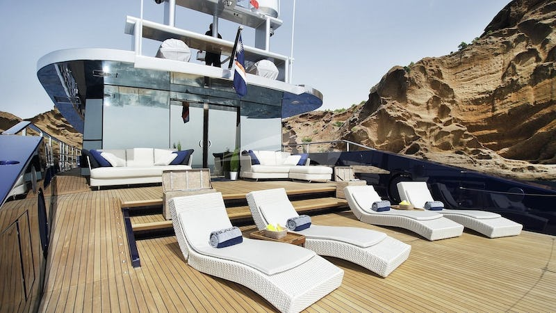 Deck and Sun Loungers
