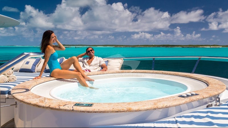 Jacuzzi on the Sun Deck