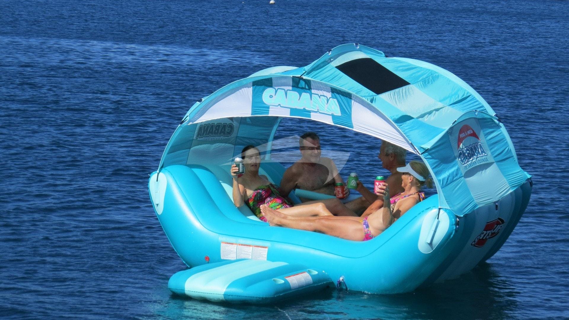 Floating Cabana!!