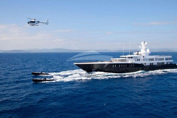 Luxury charter yacht AIR
